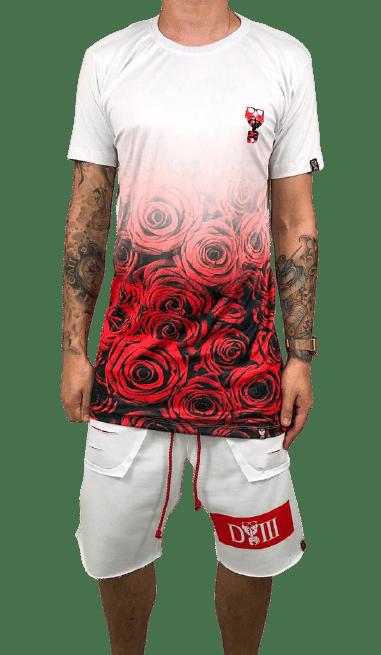 kit rosé flower red