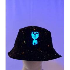 bucket hat exclusive splash neon  limitado