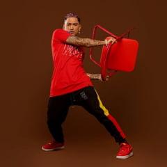 Camiseta longline collab dança by DIII