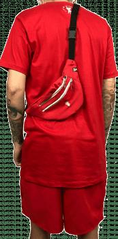 kit  vermelho 3 peças