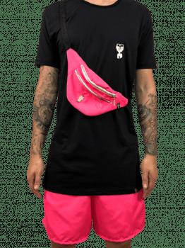 kit  neon rosa 3 peças