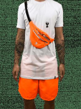 kit  neon laranja 3 peças