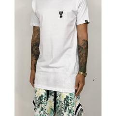 kit summer floral verde + camiseta