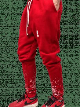 Calça moletom jogger splash