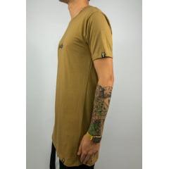 Camiseta longline basica blessed