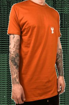 Camiseta longline  basica cores tom pastel