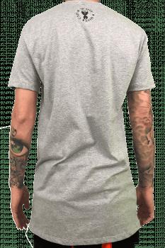 Camiseta longline basica essencials