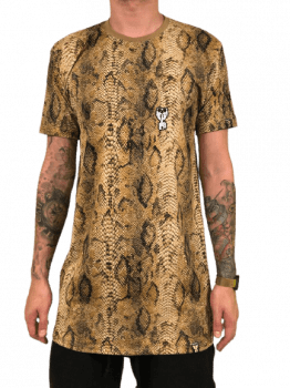 Camiseta longline snake edition limited