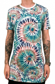 camiseta longline tiedye edition limited