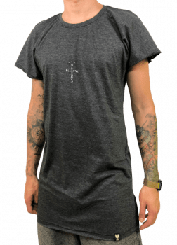 Camiseta machao longline basica believe