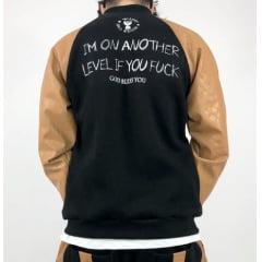 Jaqueta bomber luxo