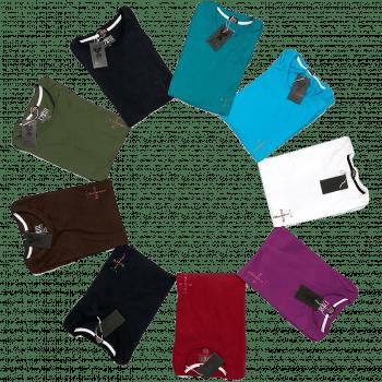 Pack 03 camisetas longline DROP BELIEVE 10 cores