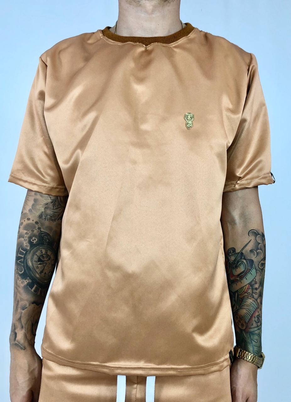 camiseta drop bronze